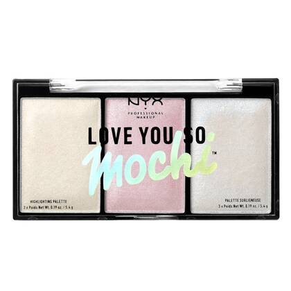 Love You So Mochi Highlighting Palette - palette illuminatrice