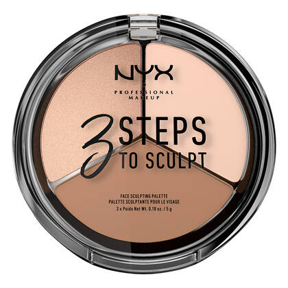 3 Steps to Sculpt Face Sculpting Palette - palette pour culpter le visage